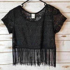 Kirra lace top size medium